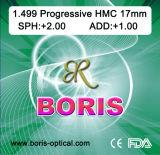 Progressive Cr39 1.499 Regular Corridor 17mm Hmc Optical Lens