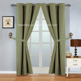 OEM Accepted 100% Polyester Grommet Curtain