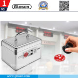 Aluminum Silver Color 6 Cells Seal Box with Lock