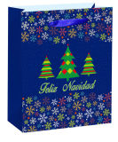 Boutique Gift Handmade Paper Bags with Holographic Foil Finishing