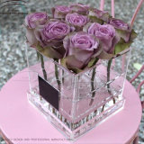Wholesale Fashion Clear Acrylic Flower Box Rose Box