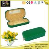 Leather Jewelry Box Custom Logo Jewelry Gift Box (5168)
