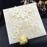 High Quality Hollow Design Customized Avalible Wedding Invitation Card