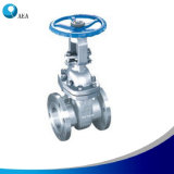 Stainless Steel Handwheel Manual Flanged End Rising Stem Gate Valve