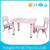 High Quality School Furniture Student Desk Oblong Table Plastic Square Desk