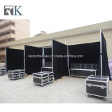 Portable Pipe and Drapes for Trade Show Display Exhibition Booth
