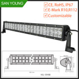 San Young 20 Inch LED Light Bar CREE Curved Offroad Driving Light Bar for Trucks and 4X4 Automobile