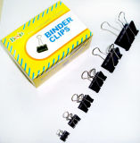 Black Binder Clips (15mm, 19mm, 25mm, 32mm, 41mm, 51mm)