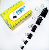 Black Binder Clips (15mm, 19mm, 25mm, 32mm, 41mm, 51mm)