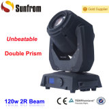 120W Beam Moving Head with Double Rotation Gobo Wheel