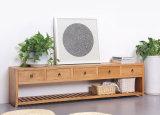 Solid Elm Wood Living Room Furniture TV Bench TV Shelf TV Stand (M-X2006)