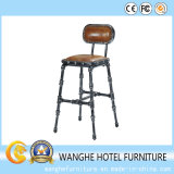 Events Furniture Metal Low Back Metal Bar Stool Banquet Chairs