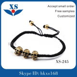 Hot Sale Fashion Promotional Bracelets with Skull Bead