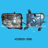 Head Lamp L with Motor (4221010-2000 4220020-2000) for Zx Grandtiger