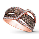 Infinity Fashion 925 Silver Rings with Color Plating Jewelry