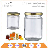 Hot Sale Glass Pickles Jars with Metal Cap