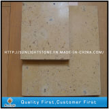 Chinese Henan Beige Marble Limestone Tiles for Wall Cladding Decorative