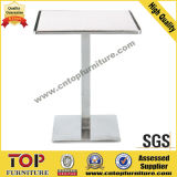 Durable Square Stainless Steel Cocktail Tables