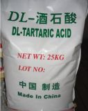 Food Additives L-Tartaric Acid, D-Tartaric Acid
