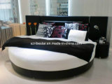 Modern Soft Round Bed, Soft Bed, Simple Design