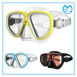 Customized Tempered Glasses Diving Mask and Snorkel