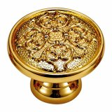 Classic Style Forged Brass Wardrobe Pull Handle and Knob