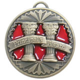 Customized Medal 3D Zinc Alloy Medallion Antique Effect for Sports Events