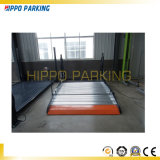 Car Lift Hydraulic Two Post Tilting Car Parking System Price