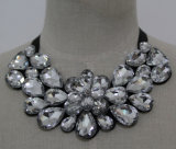 High Quality Bead Crystal Fashion Costume Jewelry Necklace (JE0086-1)