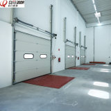 Motorized Aluminum Insulated Frosted Tempered Full View Overhead Garage Door