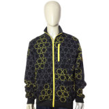 Men′s Anti Pilling Printed Sweatshirt Fleece Jacket