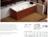 Wooden Brate Surrounded Massage Bathtub Without Skirt (BA-5005/BA-5006)