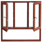 Top Quality European Standard Aluminum Wood Window Design