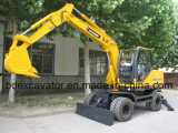 Baoding 9ton Small Wheel Excavator Hydraulic Excavator