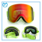 Photochromic Anti Shock Ski Mask Safety Goggles with Wide Bands