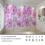 2015 New High Quality Sliding Door Withe Flower Design (Fy7658)