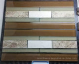 Marble Mixed Brown Glass Mosaic Tile