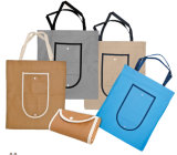 D-Cut Foldable Non Woven Bag for Shopping and Promotion