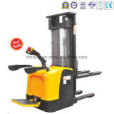 Fixed Forks Electric Stacker