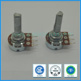 Low Cost Potentiometer 16mm B10k D-Shaft Rotary Potemtiometer