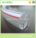 PVC Steel Wire Spiral Ring Netting Water Hose Pipe