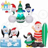 Santa Claus Model Outdoor Christmas Inflatable Decoration Xmas