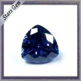 Trilliant Cut Tanzanite Blue Color CZ Gemstone