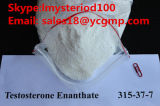 99.9% High Purity Anabolic Steroid Powder Testosterone Enanthate for Bodybuilding (CAS: 315-37-7)