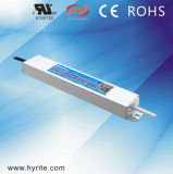 CV Slim Size LED Driver IP67 Aluminum Housing Outdoor Switching Power Supply with SAA Ce RoHS TUV