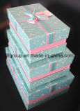 High Quality 3 PCS Set Cardboard Gift Box with Bowknot