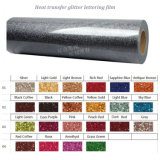 High Quality Good Flash Effect Heat Transfer Glitter Lettering Film