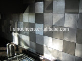 Stainless Steel Mosaic Tile Kitchen Metal Mosaic Backsplash Tiles