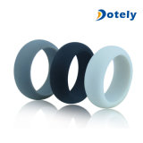 Safe Durable Everyday Wear Wedding Band Womens Mens Black Silicone Ring
