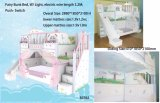 2017 Dongguan Manufacture Cheap Princess Castle Bed / Kids Castle Bed